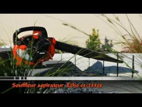 Kæmpestor ECHO ES 255ES løvsuger løvblæser - YouTube XL19