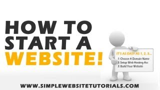 How To Start A Website - Step By Step