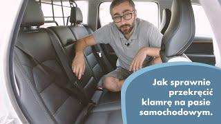 Jak obrócić klamrę na pasie samochodowym i naprawić skręcony pas bezpieczeństwa? - Tylem.pl radzi
