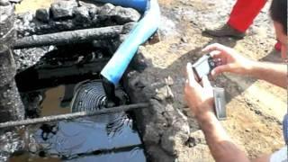Ham petrol pompası
