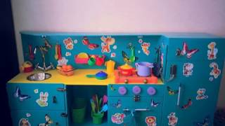 How To build a children's kitchen DIY