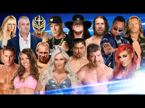 Rapper drops 80+ WWE references in SmackDown tribute