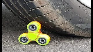 EXPERIMENT - CAR Vs FIDGET SPINNER