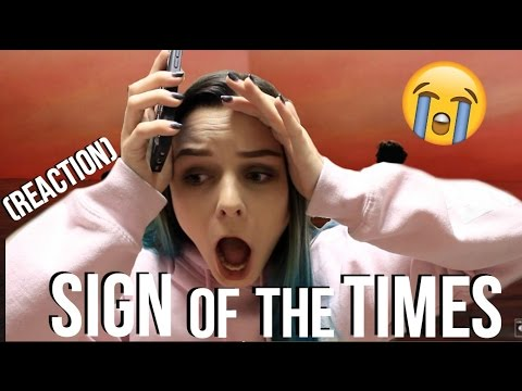 HARRY STYLES SIGN OF THE TIMES REACTION