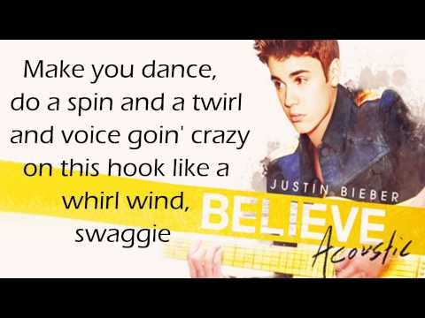 Justin Bieber - Boyfriend HD (acoustic) (lyrics + download)