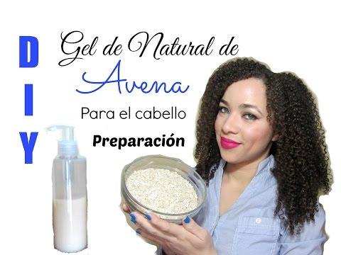 Gel natural de AVENA para el Cabello (Preparacin) DIY / Homemade Natural Gel Made with Oatmeal