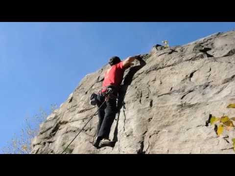 Rock Climbing - Waterline Crag - Castlegar, BC