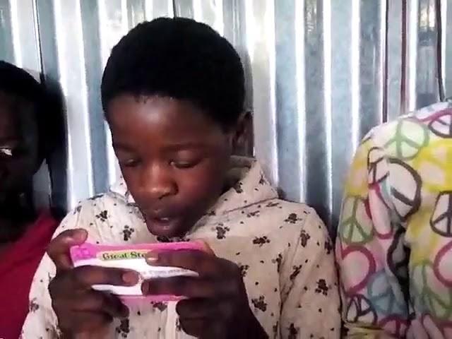 Children Learning the Bible   WFF GMFC Kibera Slum Nairobi Kenya