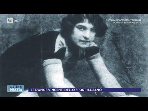 Le donne che hanno fatto la storia dello sport italiano - La Vita in Diretta 06/03/2018