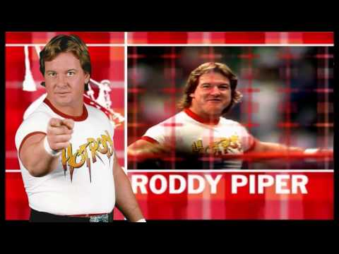 "WWE : ""Rowdy"" Roddy Piper New Entrance Video 2015 Theme ""Hot Rod"" [ Download Link ]"