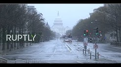 Live from Washington DC amid coronavirus lockdown