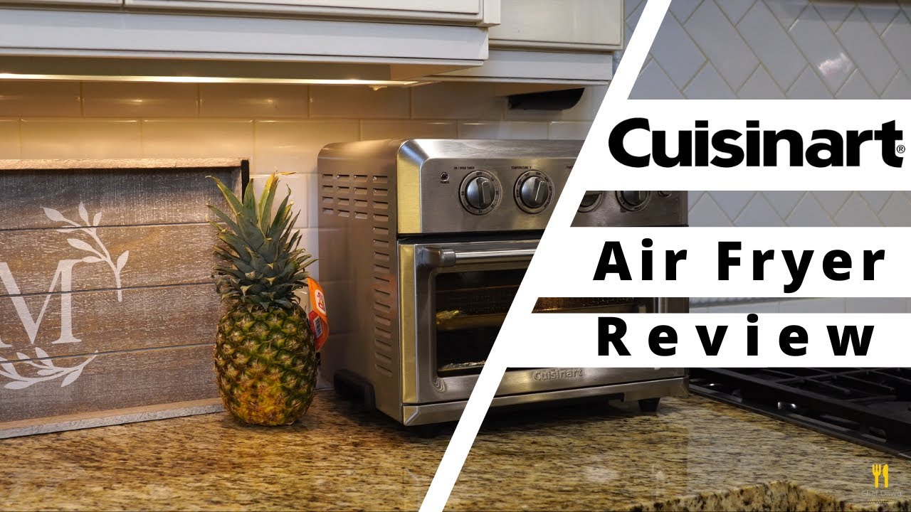 Review Of Cuisinart Air Fryer From Costco Youtube