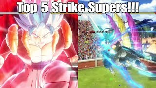 Dragon ball Xenoverse 2 Top 5 Strike Supers In The Game!
