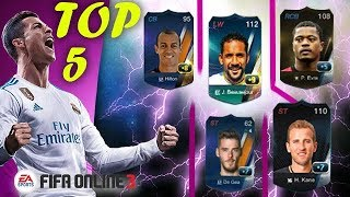 FIFA ONLINE 3 UPGRADE..TOP 5 SCARY CRAZY +8 +9 IN 5 MINUTES DE GEA LP +6+1 WILL SUCCES OR NOT !!!??