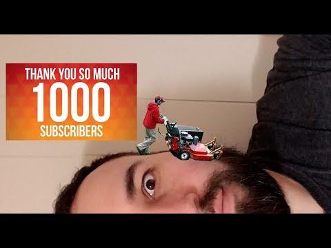 Celebrating 1000 SUBSCRIBERS!