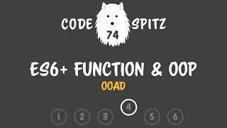 코드스피츠74 - ES6+ 함수와 OOP 4회차