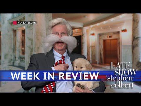 """Stephen Colbert vs. One Week Older vs. Bolton, Bee & """"The Bite"""""""
