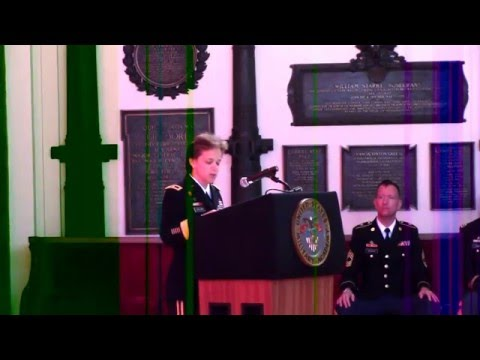 First Woman Commandant BG Diana Holland at West Point