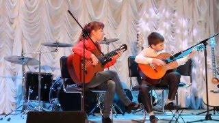 Обучение игре на гитаре в Иваново (Анна Бубнова/Матвей Плотицин-Malagueña)