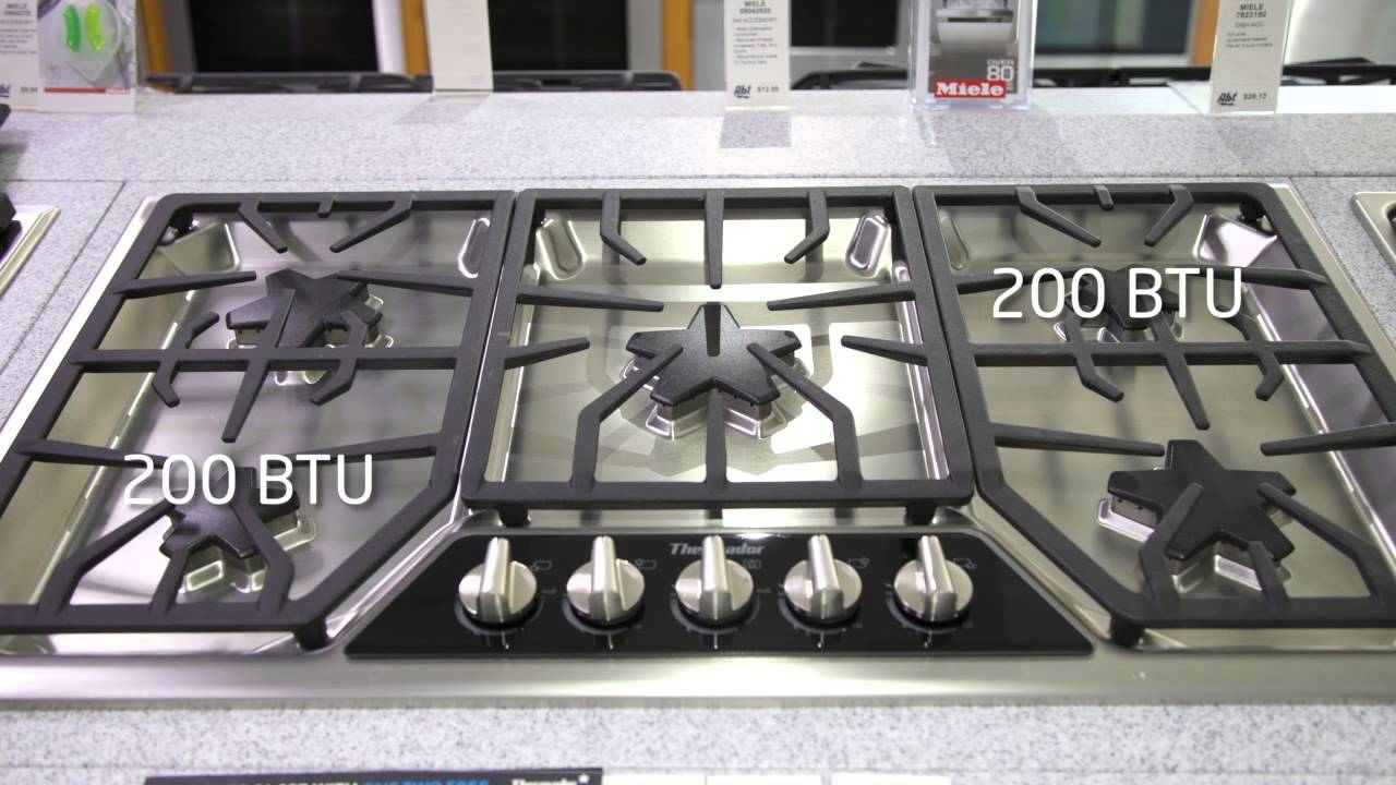 Thermador 36 Inch Gas Range Top