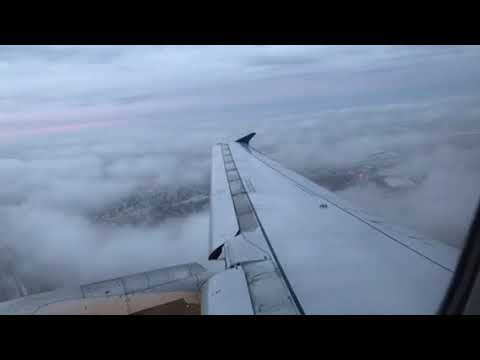 United Airlines Airbus A320 Takeoff Chicago O'Hare Airport ORD To ATL Atlanta
