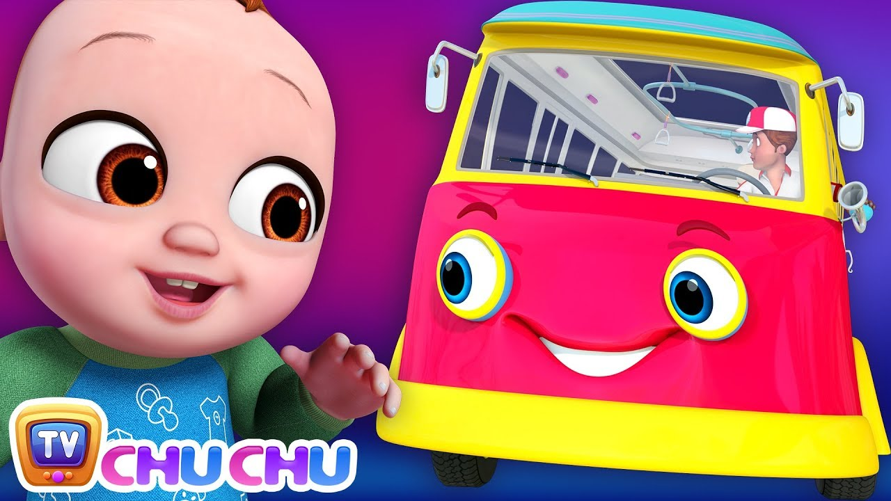 *New* Wheels on the Bus Song - Baby Starts Crying | ChuChu TV Nursery Rhymes and Kids Songs