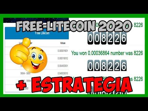 Free-Litecoin (Litecoin Gratis) + ESTRATEGIA 2020 MULTIPLICANDO GANANCIAS   Satoshi X Minuto