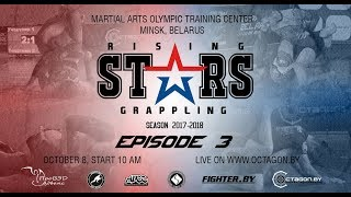Rising Stars Episode 3 || ADCC 2017 || Grappling || Submission Fighting || Preview