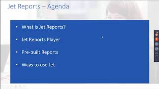 Jet Reports: Any Report You Want