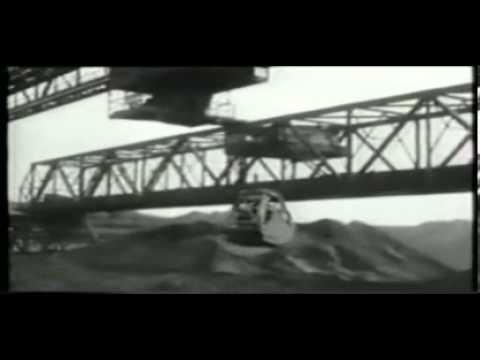 INSIDE CONSETT IRON COMPANY LTD OLD FILM