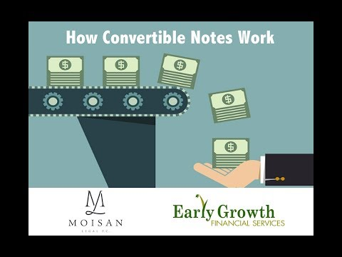 Understanding Convertible Notes Featuring Matthew Moisan