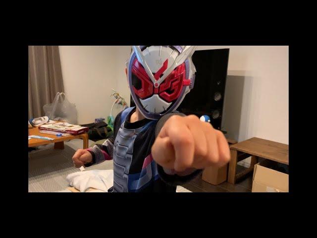 【4歳の男の子】仮面ライダージオウに変身だ!ジクウドライバーカッコいい!
