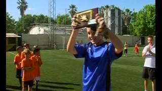 La Liga Interna de la Escuela Deportiva de Fútbol de Gines concluyó sus tres categorías