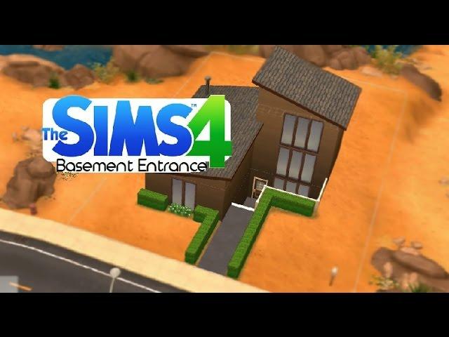 Sims 4 Tips Basement Entrance You, How To Make A Walkout Basement Sims 3