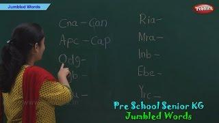Jumbled Words | Spellings | Jumbled Words For Kids | Pre School Kindergarten