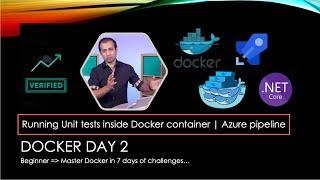Run unit test inside docker container | CI/CD Docker using Azure pipeline | YAML | AzureDevOps