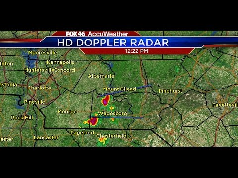Strong storms forming
