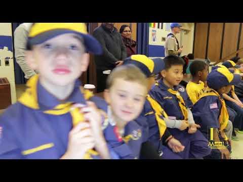 BOY SCOUTS OF AMERICA PINEWOOD DERBY 2018 CAR RACE