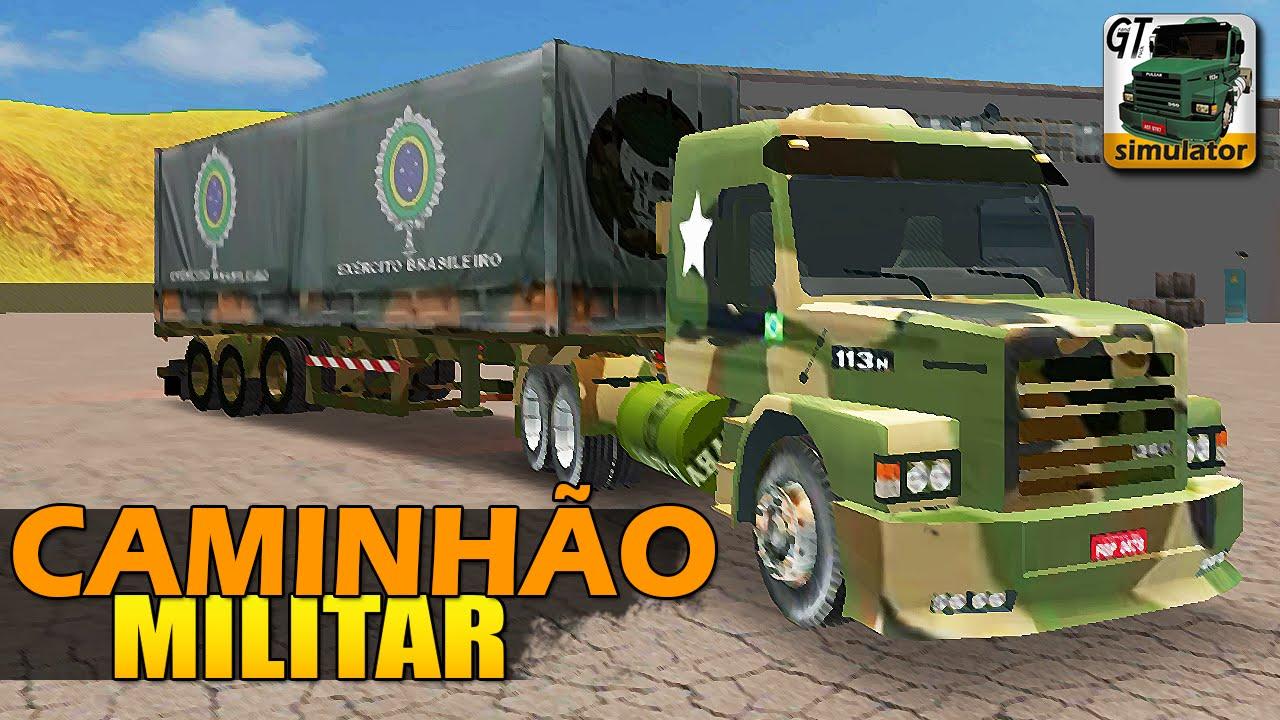 Grand Truck Simulator Caminhao Militar Youtube