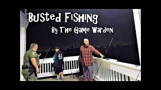 Mackerel Fishing & Busted By The Game Warden