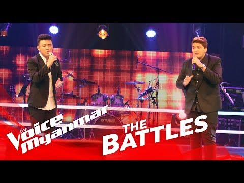 "Jason Ace vs. Mark Jason: ""All Of Me"" - The Battles - The Voice Myanmar 2018"