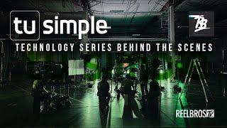 Tu Simple Autonomous Technology Series Behind the Scenes | Reelbros TV
