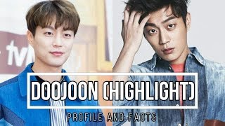 Highlight  Doojoon Profile And Facts  Kpop