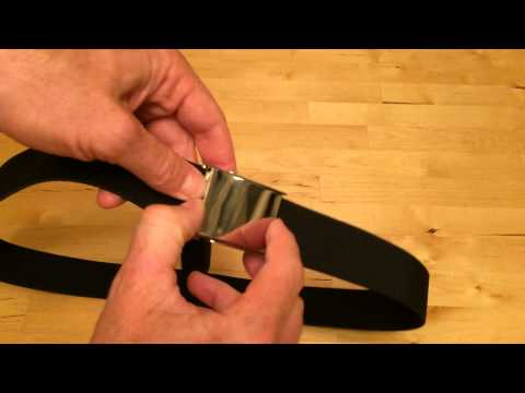 How To Resize A Belt