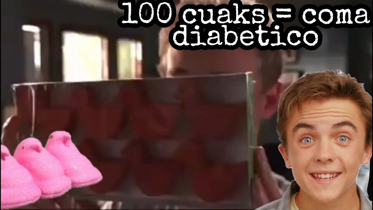 ¿Que le pasaría a tu cuerpo si comes 100 cuaks?