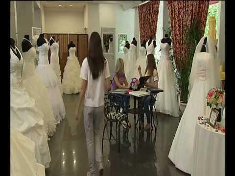 Видеоурок по созданию свадебного платья. Создаем платье из шелка и кружева
