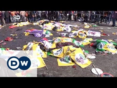 Ankara: Blutiger Anschlag auf Demonstranten | DW Nachrichten
