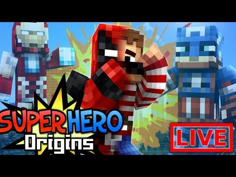 SUPER INTELLIGENCE! - Minecraft Super Hero Origins LIVE #12.1 (Modded Minecraft Roleplay)