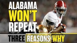 2013 Alabama Football Won