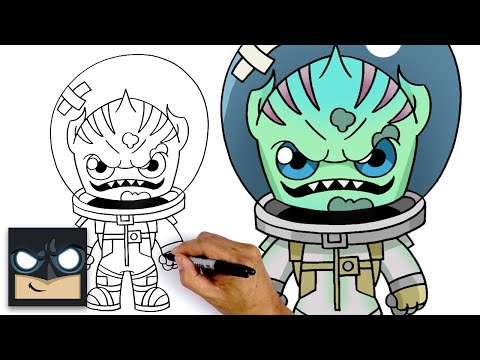 How To Draw Leviathan | Fortnite